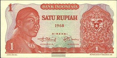 Indonesia Pick-number: 102a uncirculated 1968 1 Rupiah