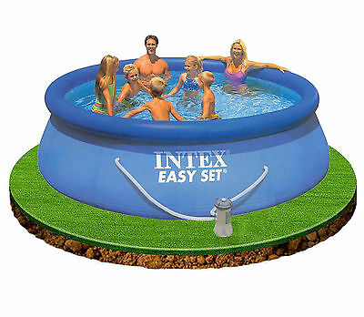 Intex Easy Set Up 12 ft x 36 in Swimming Pool with Filter Pump #28146