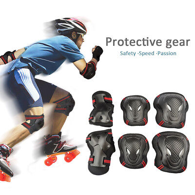 Adults Teen Kids Skate Wrist/Knee/Elbow Pad skiing Outdoor Protection Safe Gear