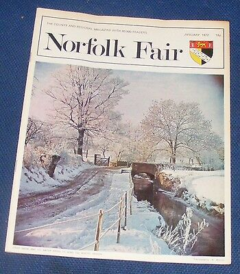 Norfolk Fair Magazine January 1972 - Soldiering In Norfolk 1915-16