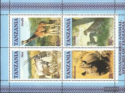 Tanzania block58 (complete.issue.) unmounted mint / never hinged 1986 Affected W