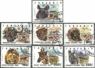 Tanzania 1607-1613 (complete.issue.) fine used / cancelled 1993 National