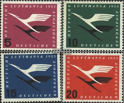 FRD (FR.Germany) 205-208 (complete.issue.) unmounted mint / never hinged 1955 Lu