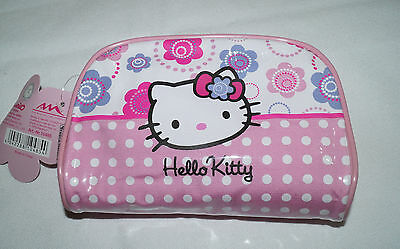 Hello Kitty Kosmetiktasche 11x16 cm Flower  NEU