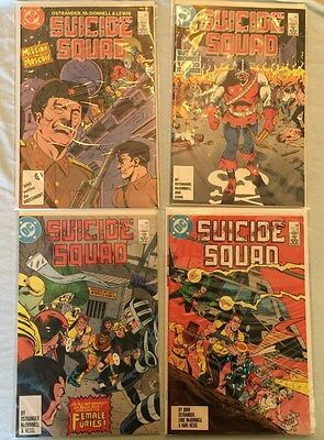 Suicide Squad Lot Issues 2,3,4 and 5