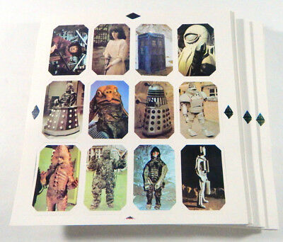 Lot of (100) 1976 Ty Phoo Doctor Who Trading Card Sets (12-cards each)