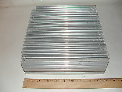 10 x 10 x 3 Aluminum Heat Sink Radiator for 1000W FM Transmitter Amplifier