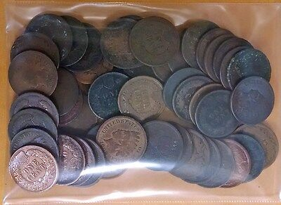 50 Indian Head Cents