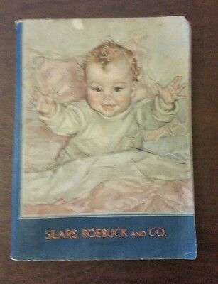 Sears Roebuck and Co. Catalog  1932-1933 Fall Winter  Original Complete  NR