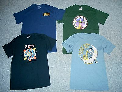 4 Mcmenamin's Adult Small Medium T-Shirts Lot / Cosmic Tripster Ruby Ale      A5