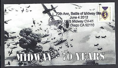 70Th Anniversary * Battle Of Midway * Uss Midway Cv-41 * San Diego * 6/4/12 *