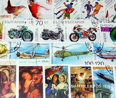 Bulgaria 250 different special stamps