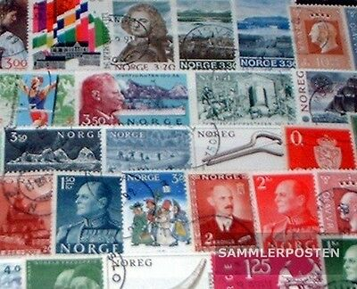 Norway 50 different  special stamps and large