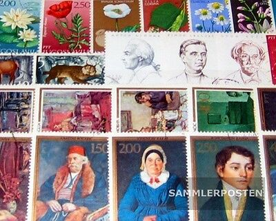 Yugoslavia 100 different stamps