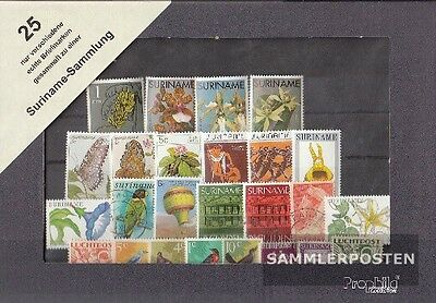 Suriname 25 different stamps