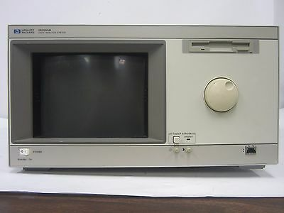 HP 16500B Logic Analysis System includes cables and power cord | 3951
