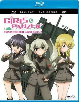 Girls Und Panzer: This Is The Real Anzio Battle! New Blu-Ray/Dvd