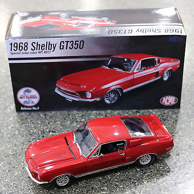 ACME Trading 1968 Ford Mustang Shelby GT350 WT #4 1:18 Scale A1801808