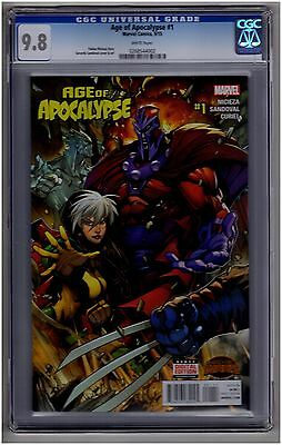 Age Of Apocalypse #1 1St Print Cgc 9.8 White Pages