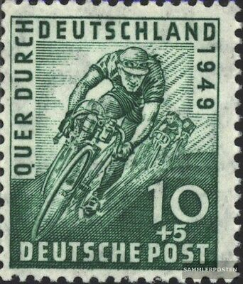 Bizonal (Allied Cast) 106 unmounted mint / never hinged 1949 Cycling