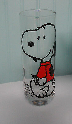 Peanuts Snoopy Glass made by Denz International
