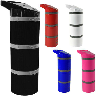 Cyclone Cup Core Dry Storage Container with CLICK N'GO Pill Compartment