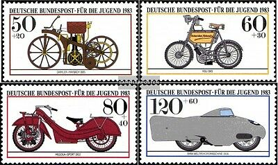 FRD (FR.Germany) 1168-1171 (complete.issue) used 1983 Historica