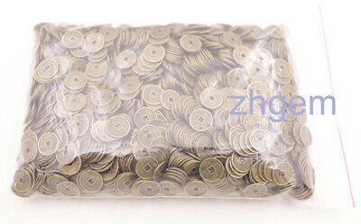2000 pcs 10mm replica chinese Qing Dynasty coins feng shui copper alloy 380g