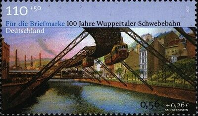 FRD (FR.Germany) 2171 (complete issue) used 2001 Wuppertal mono