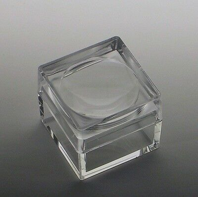 Acrylic Box with 4X Magnifier Cover Bug Box Set of 25