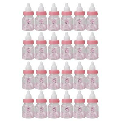 24 Pieces New Feeder Type Mini Candy Bottle Gift Box Baby Shower Favors