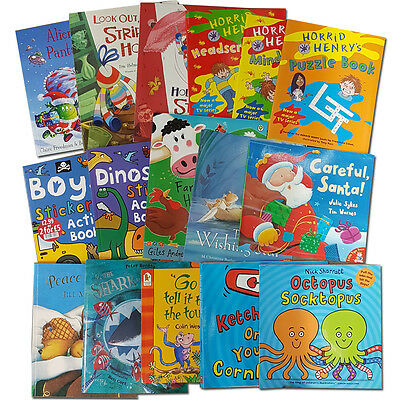 Joblots Wholesale of 50 Childrens stories and activity Books Collection Set