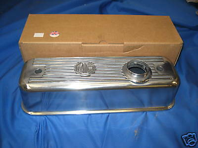 MG    NEW MGB ROADSTER OR GT B SERIES ALLOY ROCKER COVER  only    ***  G3B