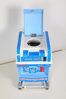 Snow Cone Machine Shaved Ice maker with starter Package offer .CE Approved.