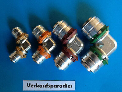 Uponor,Unicor,Unipipe,Metall Pressfitting Winkel 90°, 16 - 32 mm