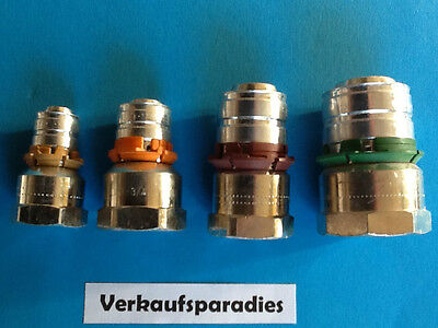 Uponor,Unicor,Unipipe,Metall Pressfitting Übergangsmuffe, 16 - 32 mm