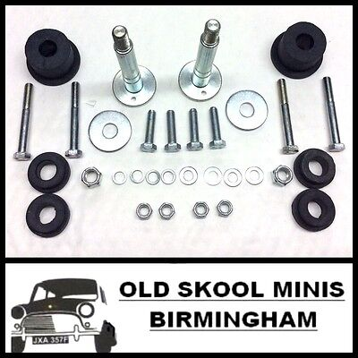Classic Mini Rear Subframe Fitting Kit Inc. Bolts Bushes Washers 1976-2000 5R7