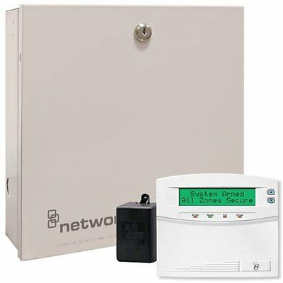 New Interlogix NetworX NX-8E Security Kit with NX-148E Keypad (NX-848E-KIT)