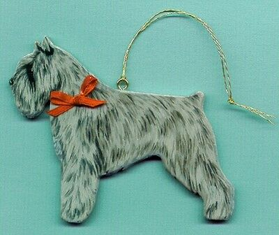 BOUVIER DES FLANDRES Wooden Dog ORNAMENT -Hand Crafted!