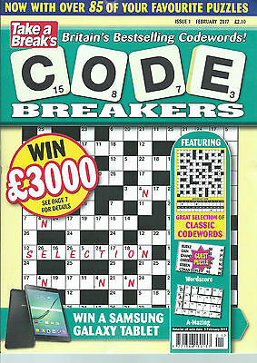 Code Breakers By Take A Break 85 Codewords To Solve Issue 1 With 50% Off Rrp