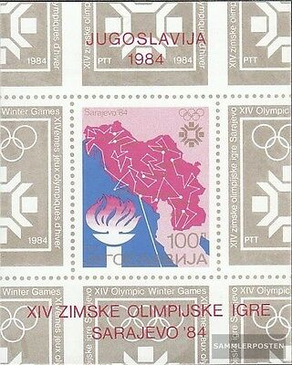 Yugoslavia block25 (complete issue) unmounted mint / never hinged 1984 olympic.