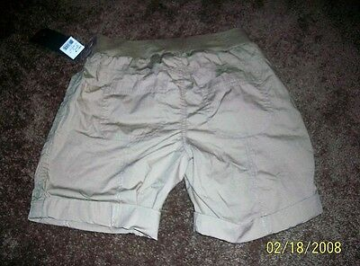 Nwt Oh Baby By Motherhood Sz Small Underbelly Tan Maternity Shorts - W158
