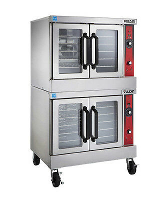 Vulcan VC3 Series Double Stack Electric Convection Oven - 208/240V - VC55ED
