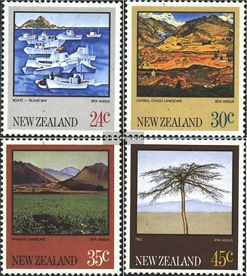 New Zealand 870-873 (complete issue) unmounted mint / never hinged 1983 Rita Ang