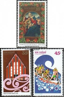New Zealand 852-854 (complete issue) unmounted mint / never hinged 1982 christma