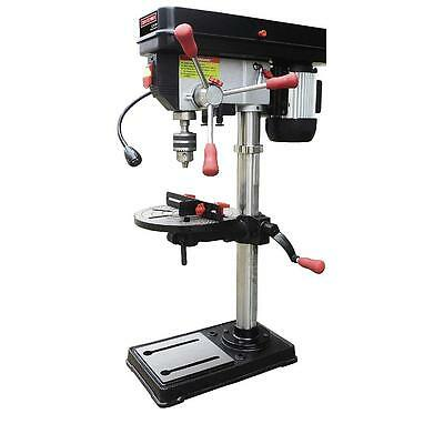 "Craftsman 12"" Bench Drill Press Laser & LED Light 1/2 HP Power Drilling Workshop"
