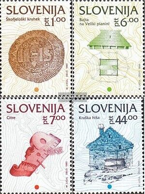 slovenia 39-42 (complete issue) used 1992 cultural Heritage