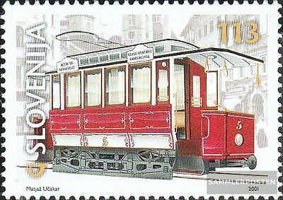 slovenia 357 (complete issue) used 2001 Transportation