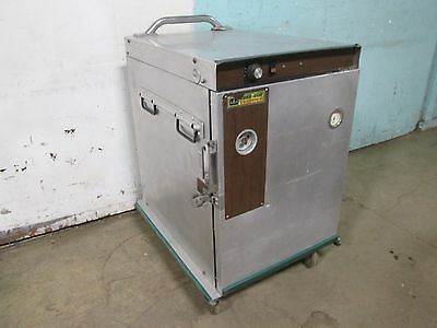 """""""cres-Cor Crown-X"""" Hd Commercial Electric  Food Warmer Holding Cabinet On Caster"""