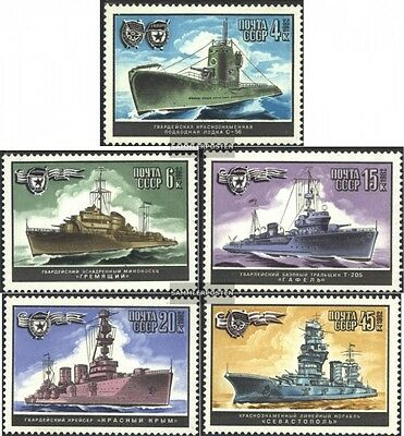 Soviet-Union 5216-5220 (complete issue) used 1982 Warships
